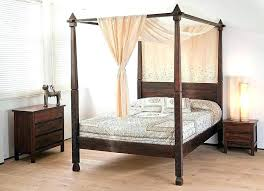 Black Four Poster Bed Frame Four Poster Bed Posts Hsfurmanek Co