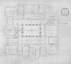 Chateau Floor Plans by Carolands Foundation