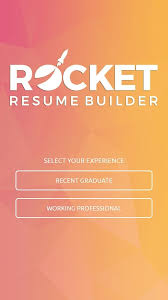Resume Maker Google Rocket Resume Builder Android Apps On Google Play