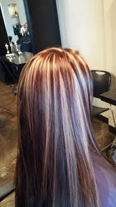 highlight lowlight hair pictures blonde red and brown highlight lowlight hair by morgan yelp
