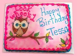 owl birthday cakes s bakery akron ohio birthday cakes