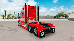 volvo 2017 truck red fantasy on the truck volvo vnl 780 for american truck simulator
