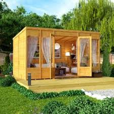 Summer Houses For Garden - my newly painted sentry box shed in outside cuprinol garden