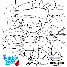 excited for tumble leaf season 2 new episodes coloring pages