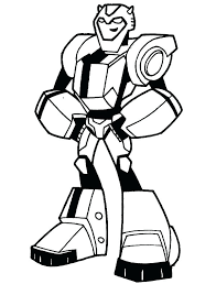 Free Transformer Coloring Pages Bumblebee Transform To Police Car Bumblebee Coloring Pages