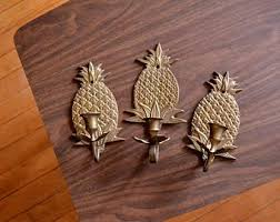 Pineapple Wall Sconce Pineapple Sconce Etsy