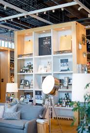 pop up shop with west elm