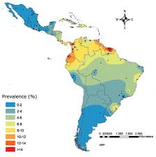Map Of Caribbean Countries g6pd deficiency in latin america systematic review on prevalence