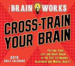 Desk Daily Calendar Cross Train Your Brain Desk Calendar 2018 Calendar Club Uk