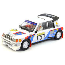 peugeot 205 t16 scalextric peugeot 205 t16 no 3 1000 lakes rally 1985 c3751