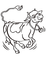 cartoon cow coloring pages clipart best a udder experience