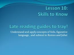 lesson 10 skills to know late reading guides to tray ppt download