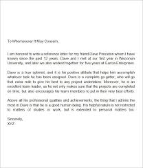recommendation letter for mba college recommendation letter