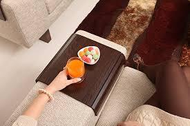 Sofa Arm Table amazon com sofa tray table tropical wenge sofa arm tray