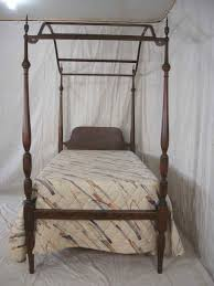 antique canopy bed twin size canopy bed
