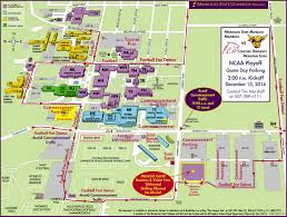 State Of Mn Map by Dec 13 Commencement Football Parking Map U2014 Minnesota State