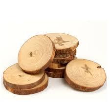 cup coaster aliexpresscom buy m size pure wood 8pcs cork drink