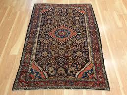 antique persian rug 3 u0027 7 x 5 u0027 blue black tajabad u2013 jessie u0027s