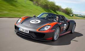 porsche 918 spyder hybrid mpg 2015 porsche 918 spyder convertible car reviews