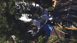 1 dead 1 injured after plane crashes into moss beach home