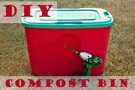 how to make an easy diy compost bin blissfully domestic
