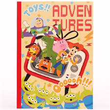 toy story characters tv notebook exercise book japan memo pads