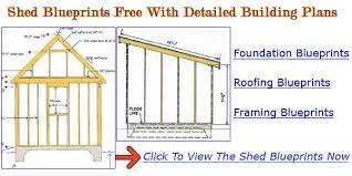 shed blueprints diy