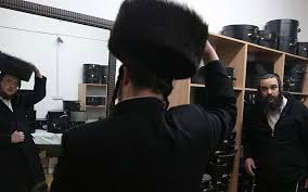 shtreimel for sale ultra orthodox bigwig calls for synthetic fur hats the times of