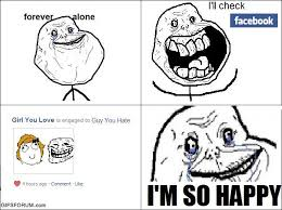 Together Alone Meme - image 157238 forever alone know your meme