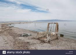 desert shores california usa 20th mar 2014 the salton sea is