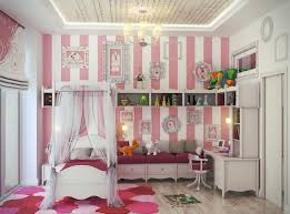 cute and colorful bedroom for girls