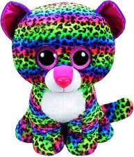 2017 ty beanie boos dotty leopard large 16