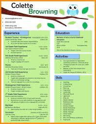 preschool resume template ideas collection preschool resume template awesome free