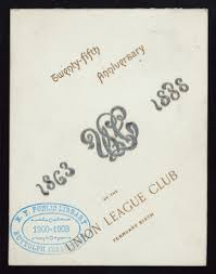 twenty fifth anniversary file twenty fifth anniversary held by union league club at