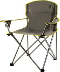 2 Position Camp Chair With Footrest Quik Chair Ton Heavy Duty Folding Camp Chair U0027s Sporting