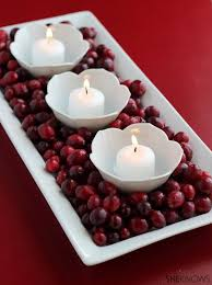 Ideas For Christmas Centerpieces - best 25 cranberry centerpiece ideas on pinterest small wedding