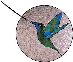 acuba swordbill hummingbird stained glass patterns gallery