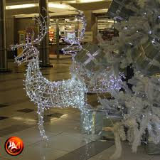 bedford centre christmas tree with led reindeer 2015 tmcc