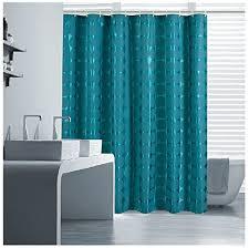 eforgift waterproof shower curtain solid heavy duty fabric bath