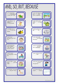 Worksheets On Interjections 88 Free Esl Conjunctions Worksheets