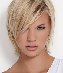 trendy haircuts for thin hair short layered haircuts for round