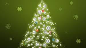 1366x768 simple christmas tree desktop pc and mac wallpaper