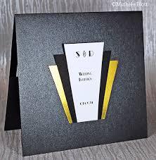 millie art deco wedding invitation gallery
