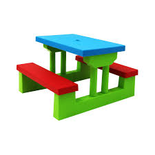 Outdoor Table Set kids childrens picnic bench table set outdoor furniture 32 99