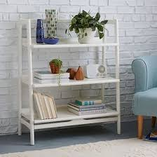 west elm white bookcase mid century bookshelf low wide west elm within elegant white low