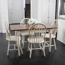 Noble House Dining Chairs Little 5 Piece Spindle Wood Dining Set With Leaf Extension U2013 Noble