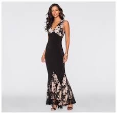 eliacher maxi plus size women floor length black white autumn lace