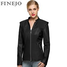 online buy wholesale women brown leather jacket from china women