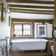 country cottage bathroom ideas 15 charming bathroom designs with wood beams rilane