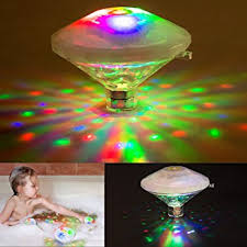 battery operated floating pool lights yunlights led bath light floating swimming pool lights waterproof